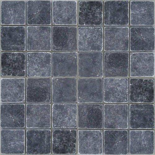 Marmer Karia Black Natuursteen 10X10 Cm P/M²