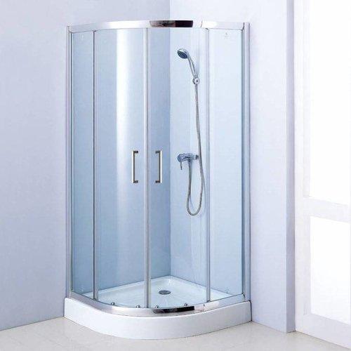 Aqua Royal Douchecabine Kwartrond 90X90X192 Cm 6 Mm Veiligheidsglas