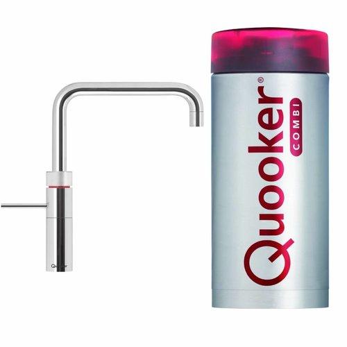 Quooker Fusion Square Chroom met Boiler Combi/Combi+