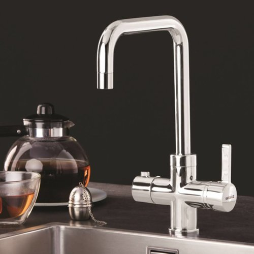 Dekker Kokendwaterkraan Selsiuz Haaks Chroom (Inclusief Boiler)