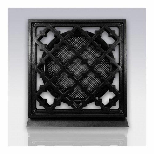 Weckx Deurrooster Retro Vierkant Aansluiting 12,5 cm