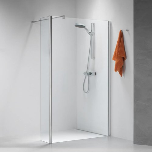 Inloopdouche Impact Type A1 100X195 Cm Chroom/Zilver Helder Glas