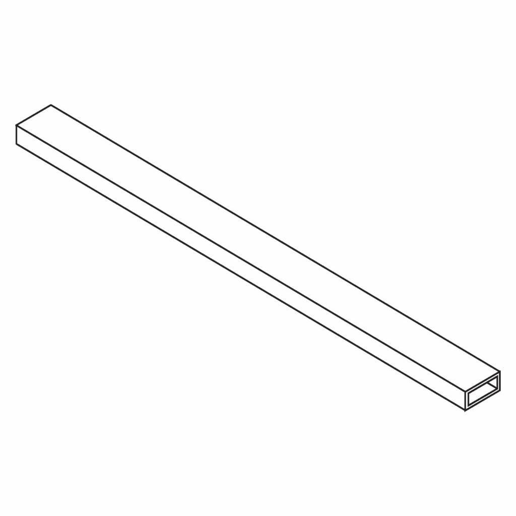 Get Wet by Sealskin Stabilisatiestang Impact Verlengde Buis 3X1X125 cm Chroom/Zilver