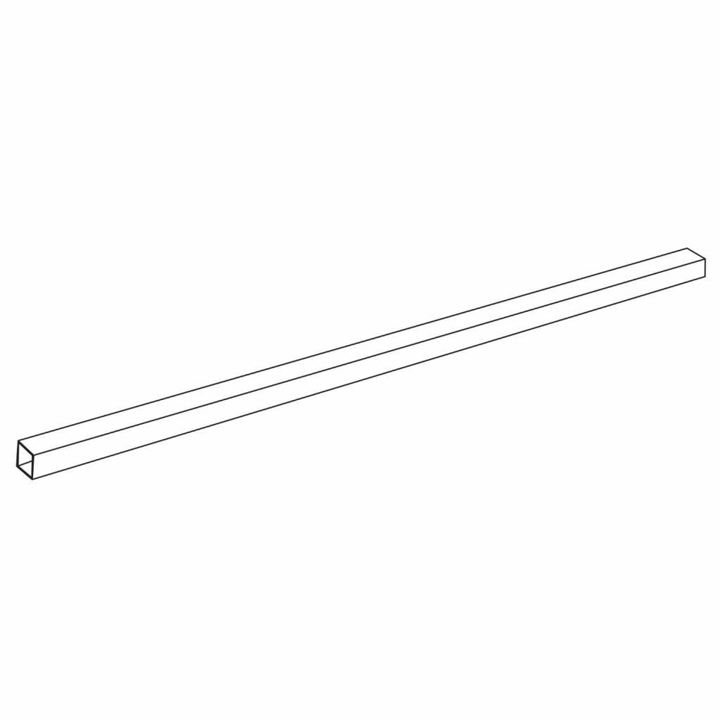 Get Wet by Sealskin Stabilisatiestang 'I Am' Verlengde Buis RVS 125 cm