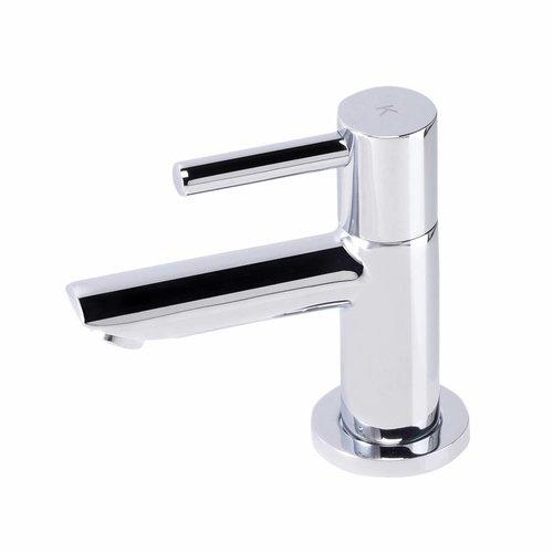Aqua Splash Toiletkraan Alexia Hoog Model Chroom Keramisch Binnenwerk