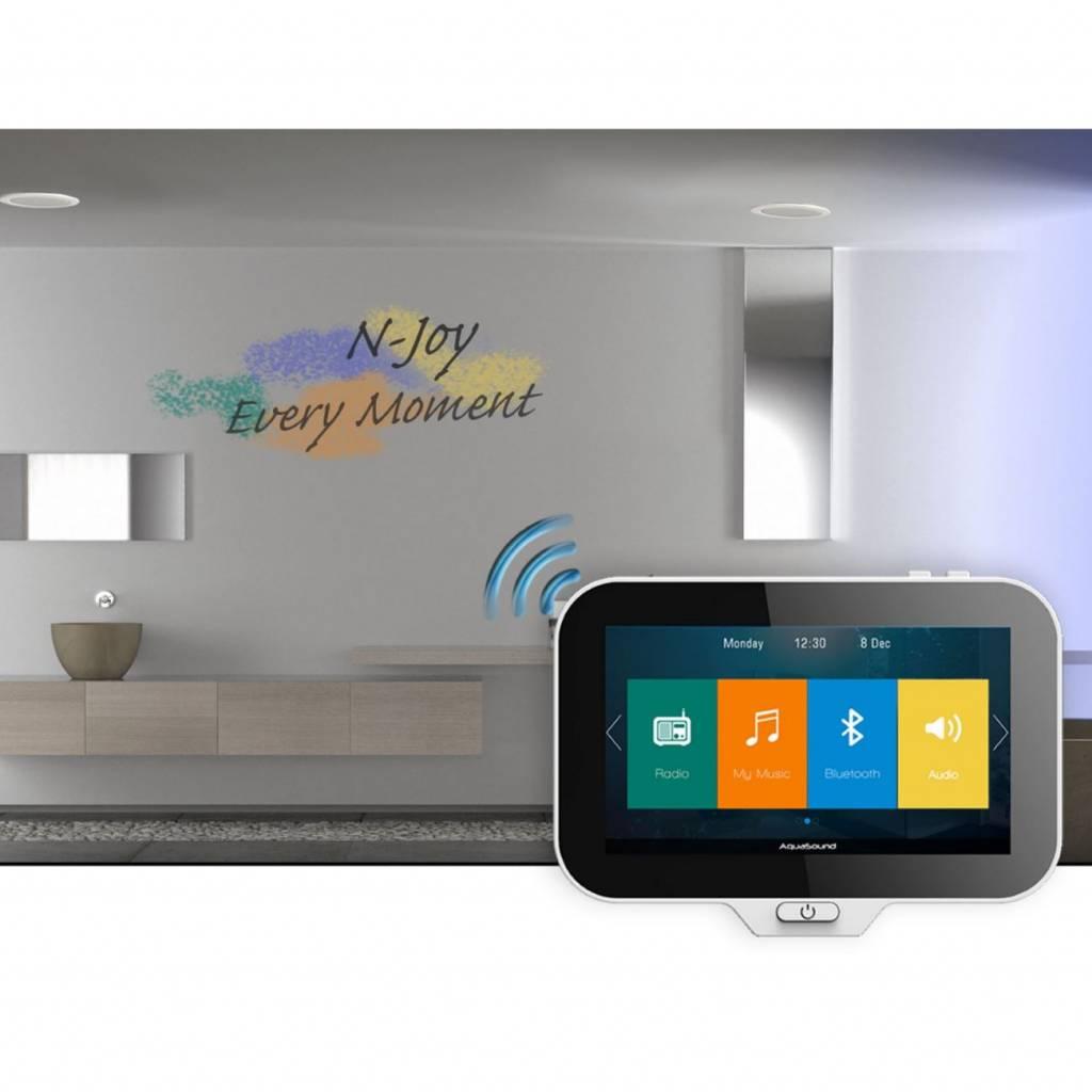 Aquasound Controller N-Joy Waterdicht (Ipx7) t.b.v. Music Center + ...