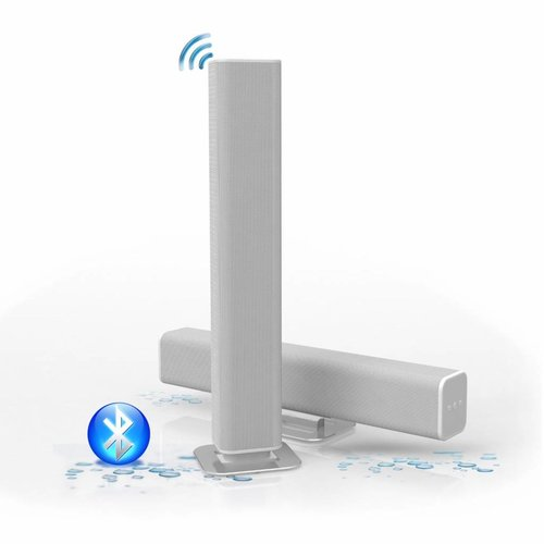 Sound-Bar Waterdicht (Ipx5) Bluetooth 4.0 Wit 45 Cm 25 Watt (230V/12V)