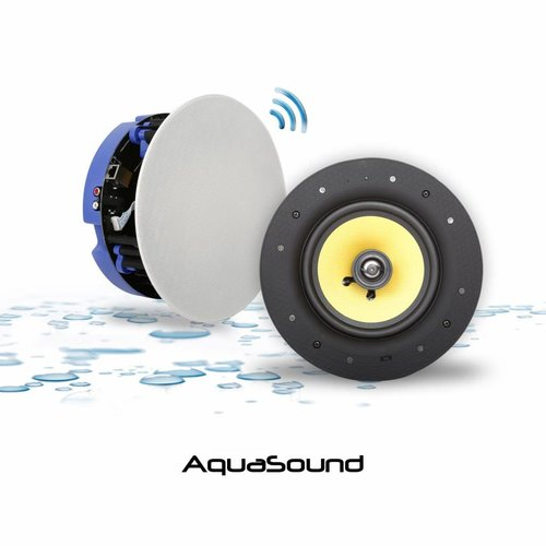 Aquasound Speakerset Move Bluetooth 4. 0 Wit (21Cm) 70 Watt (230V/12V)