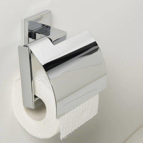Toiletrolhouder Items Met Klep Chroom