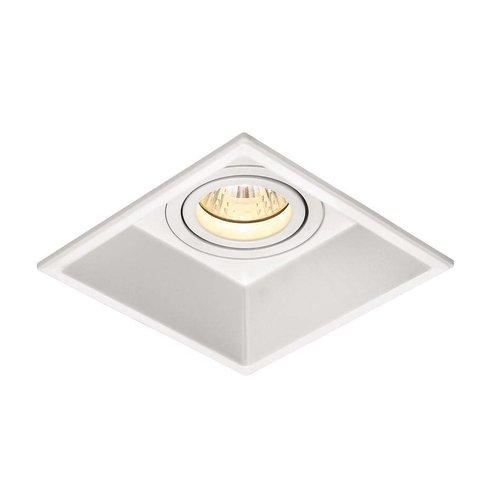 BWS Inbouw Spot Led Vierkant Zwart of Wit Aluminium (1 stuks)