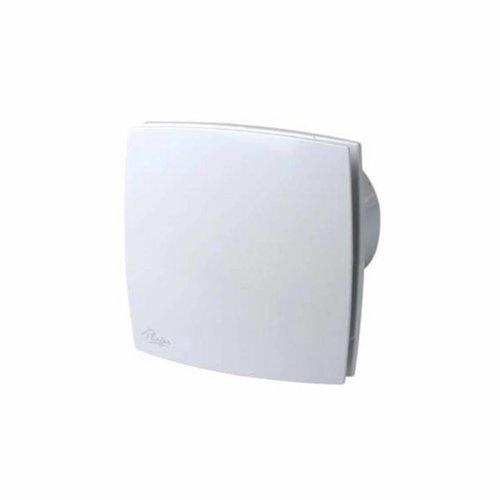 Plieger Ventilator Design 165m2 125mm Met Timer Wit