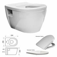 Toiletset 07 Up320 Aqua Splash Prio Rimfree Met Sigma Drukplaat