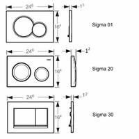 UP320 Toiletset 03 Megasplash  Basic Smart met bril en drukplaat