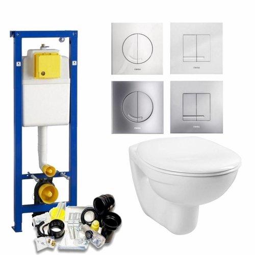 Xs Toiletset 03 Megasplash Basic Smart Met Bril En Drukplaat