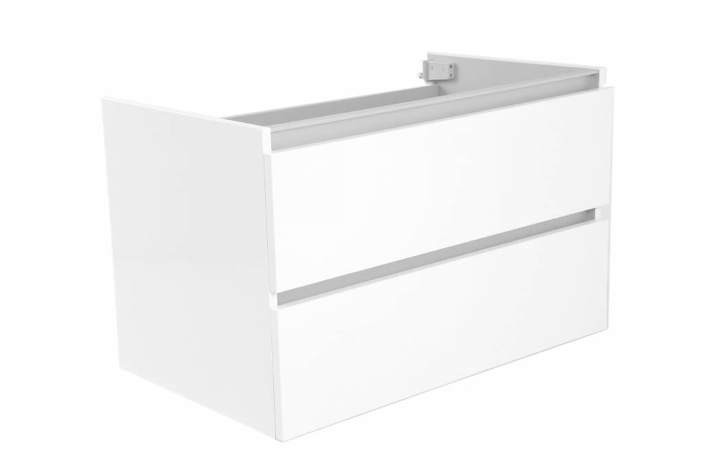 Aqua splash onderkast cm zonder wastafel hoogglans wit