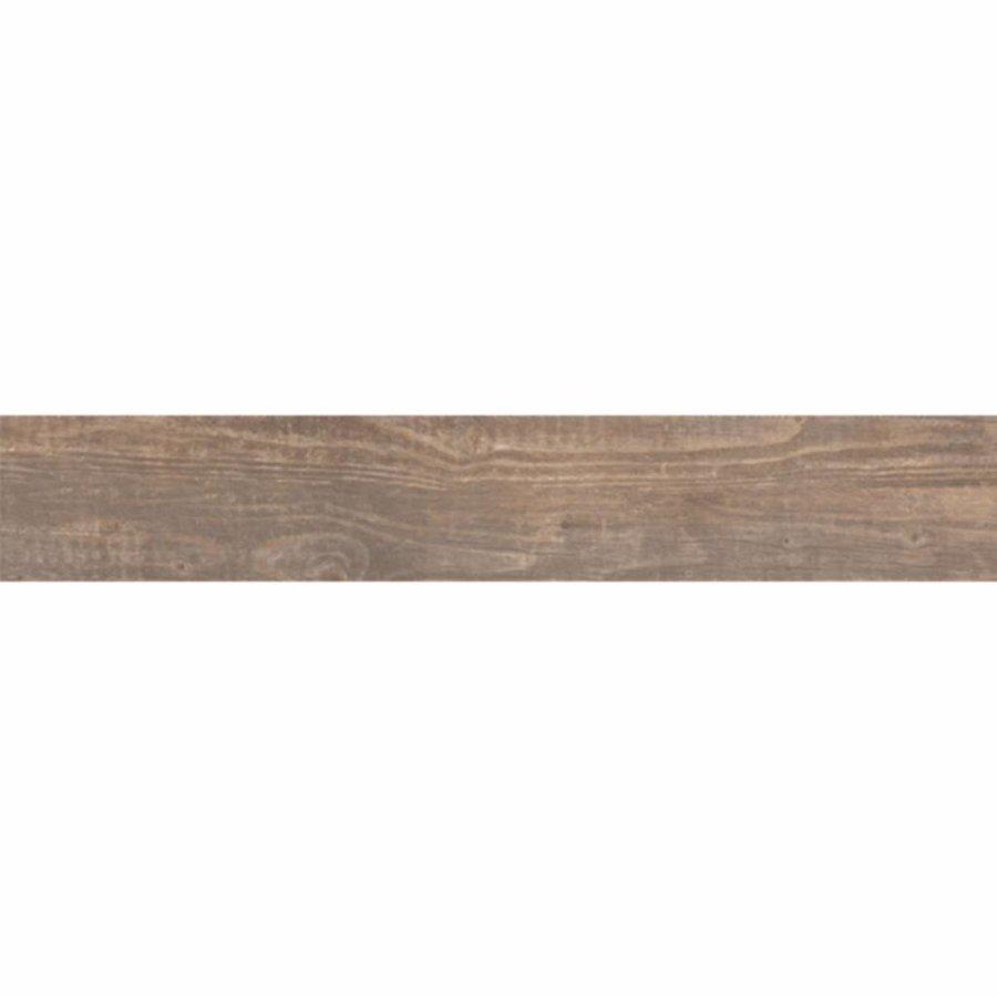 Vloertegel Soul Walnut 25X150 Cm Per M2