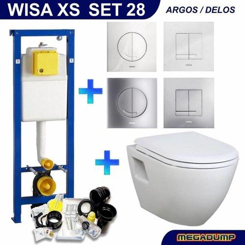 Xs Toiletset 28 Creavit Tp325 Wit Met Softclose Zitting