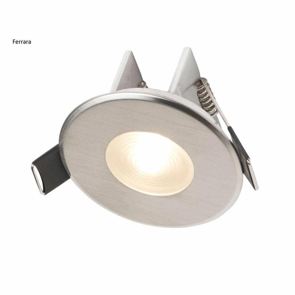 Inbouw Spotlamp Ferrara Rvs Set