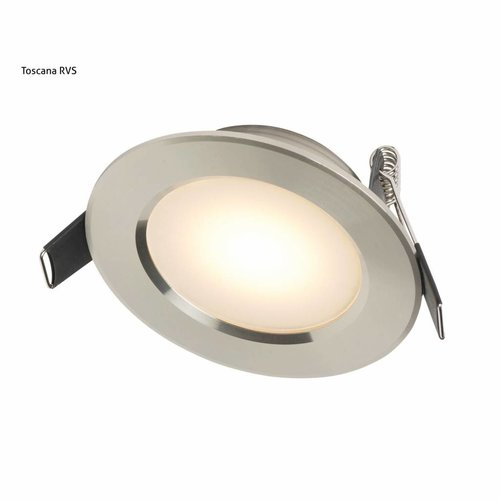 Inbouw Spotlamp Toscane Set (Rvs Look 17443)