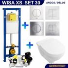 Wisa XS Toiletset 30 Villeroy & Boch O.novo Directflush met bril en drukplaat