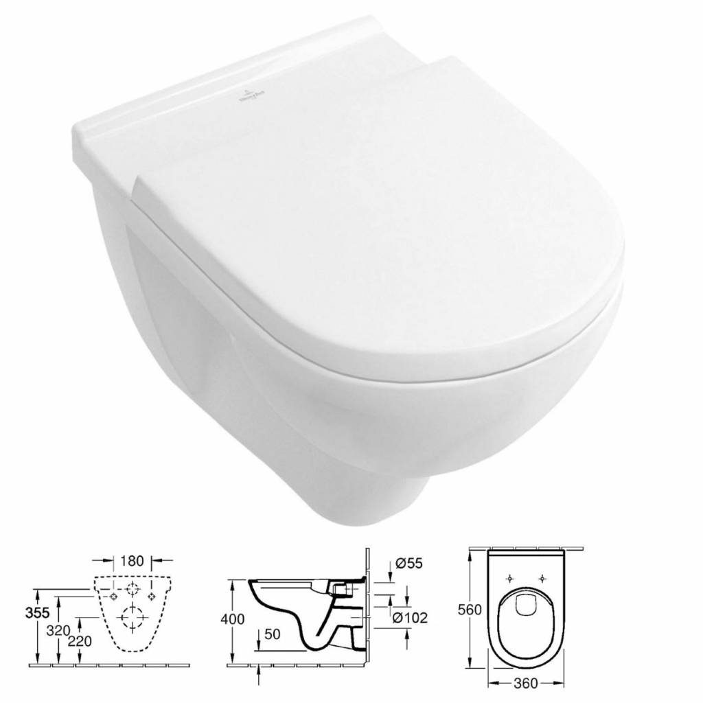 Toilet Villeroy En Boch.Wisa Xs Toiletset 30 Villeroy Boch O Novo Direct Flush Met Bril En