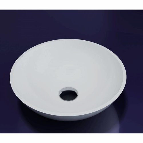 Waskom Solid Surface Rond 38x38x12 cm