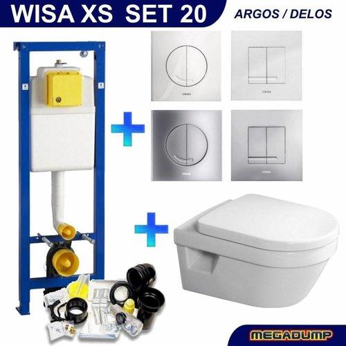 Wisa XS Toiletset 20 Villeroy & Boch Omnia Architectura DirectFlush met bril en drukplaat