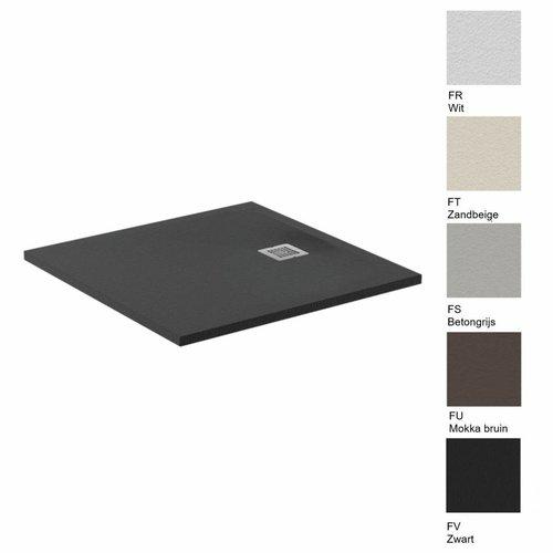 Ideal Standard Douchebak Ultra Flat Solid Vierkant (in 3 afmetingen en 5 kleuren)