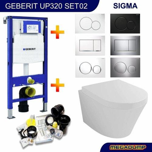 Aqua Splash UP320 Toiletset 02 Wiesbaden Vesta met Sigma drukplaat