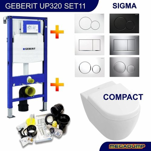 Up320 Toiletset 11 V&B Subway 2.0 Compact Met Sigma Drukplaat