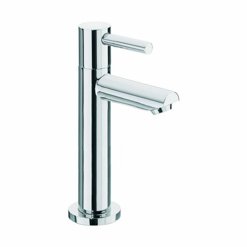 "Aqua Splash Toiletkraan Danu Xl 15Cm Hoog Keramisch Binnenwerk 1/2"" Chroom"