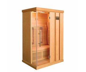 Verwarming Wordt Trendy : Infrarood sauna trendy cm w persoons sauna