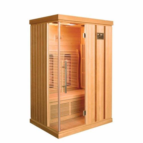 Infrarood Sauna Trendy 125X103 Cm 1800W 2 Persoons