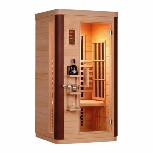 Infrarood Sauna Diamant 1 99X90 Cm 1560W 1 Persoons
