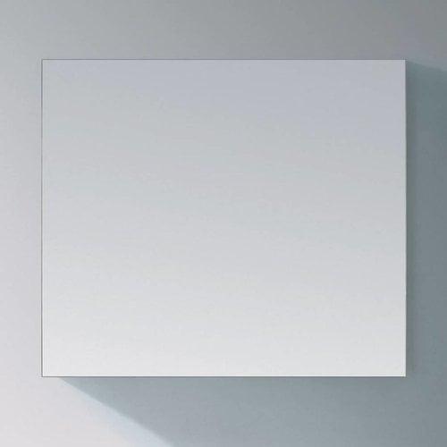 Sanitop Basis Spiegel Aluminium Geborsteld (In 9 Maten)