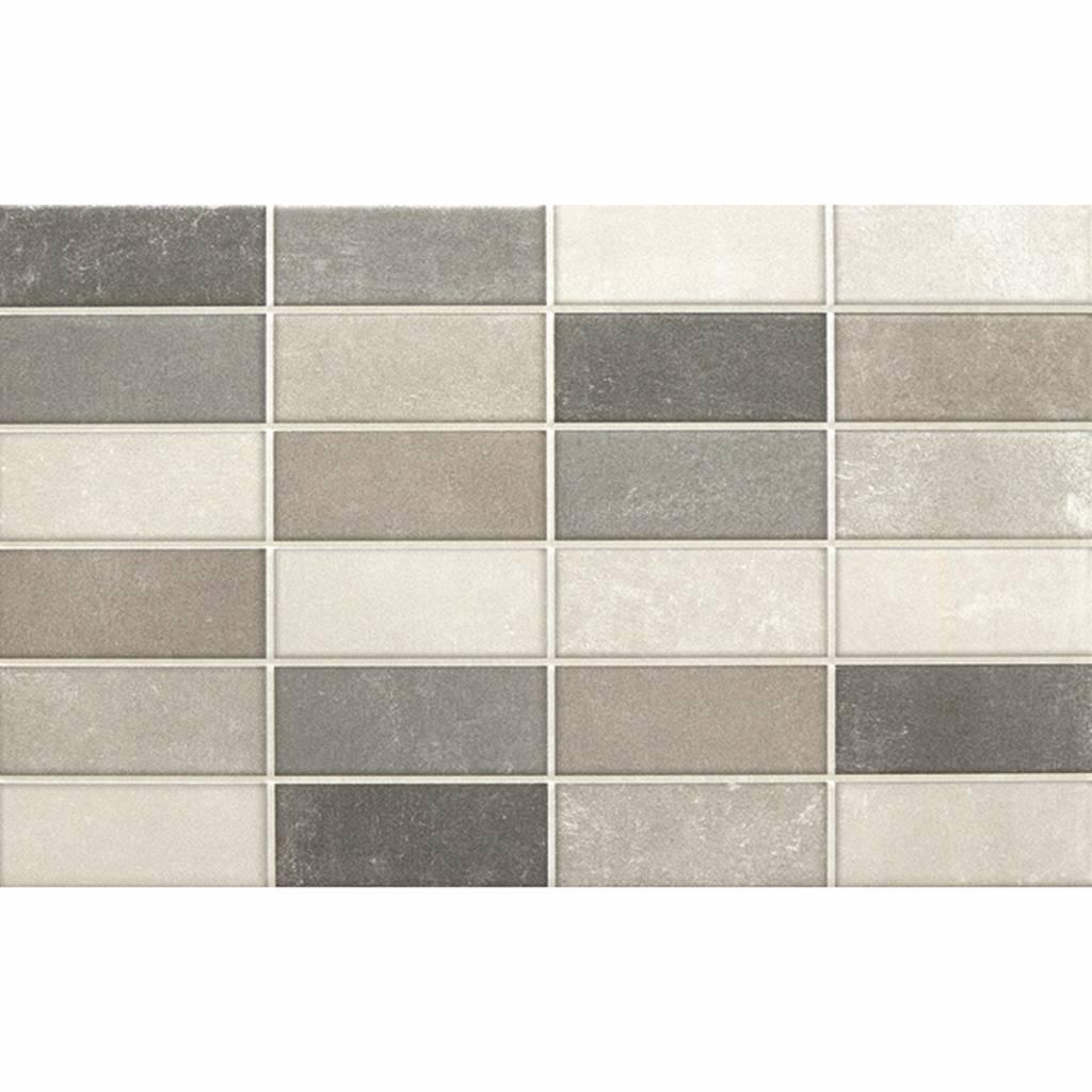 Productafbeelding van Wandtegel Assen Mosaic 25x40 cm P/M2 Alaplana