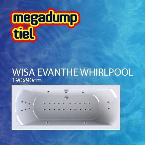 Evanthe Whirlpool 190X90X60/65 Cm Sportpakket Deluxe