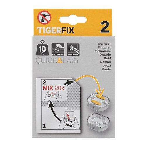 Muurplaatje Tiger TigerFix type 2