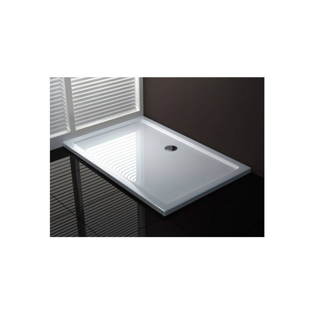 aqua splash luxe douchebak rechthoek 120x80x4 cm wit douchebakken megadump tiel. Black Bedroom Furniture Sets. Home Design Ideas