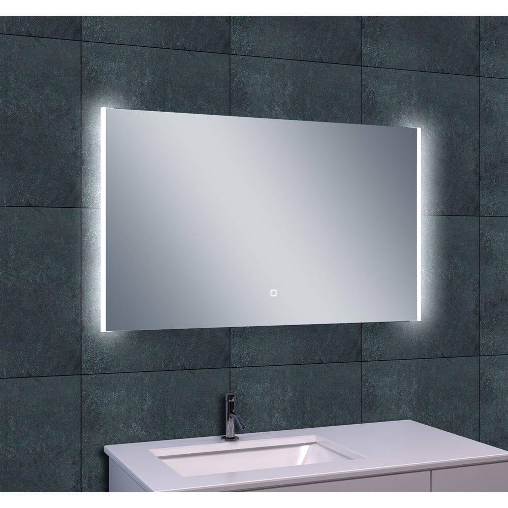 Aqua splash duo led spiegel 100x60cm spiegels megadump for Led spiegel