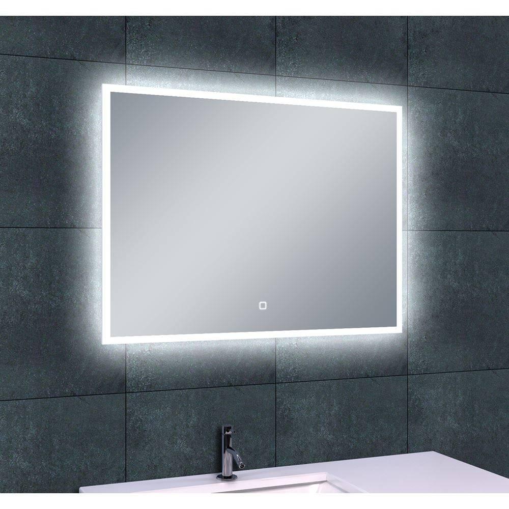 Quatro Led Spiegel 80X60Cm
