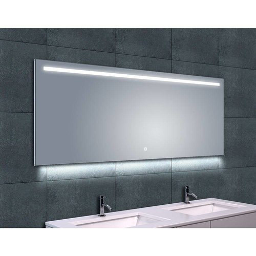 Aqua splash quattro dimbare led spiegel 100x60cm for Spiegel 160x60