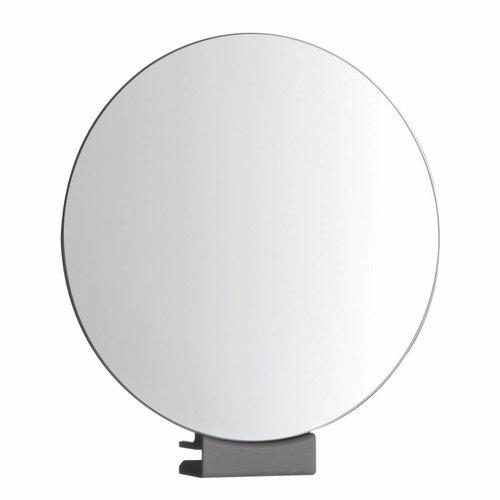 Scheerspiegel Rond Met Klem Ø12cm Glasdikte 5-6mm Chroom