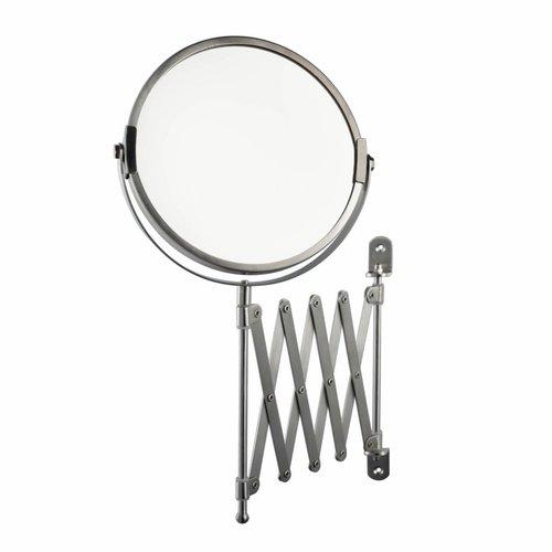 Scheerspiegel Cosmetica Spiegel Wandmodel RVS Look