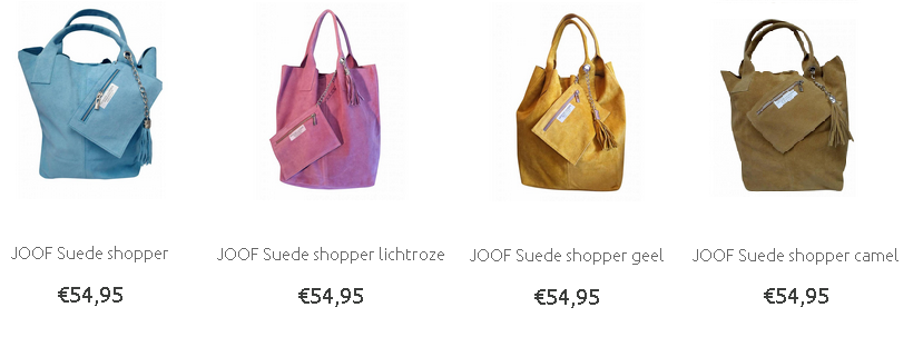 suede shoppers zomer 2015