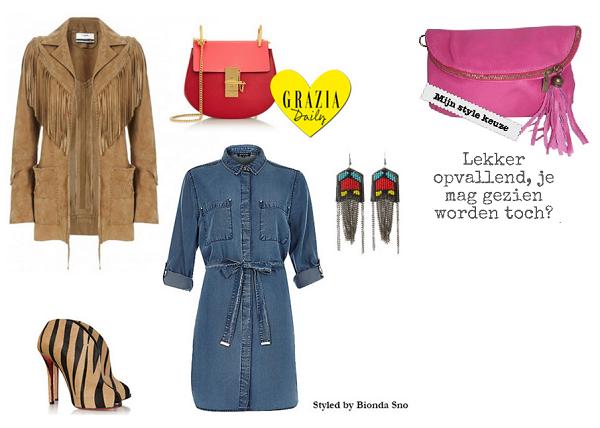 Citybag gecombineerd met Gypsy outfit