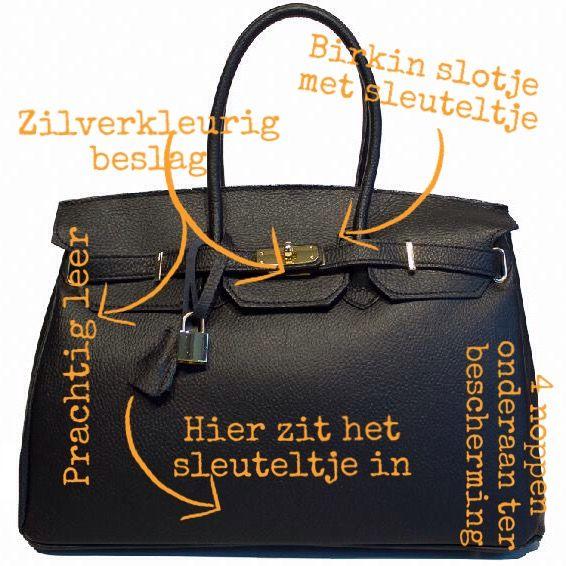 Shop je Birkin look tas nu met €30 korting, uitverkoop.