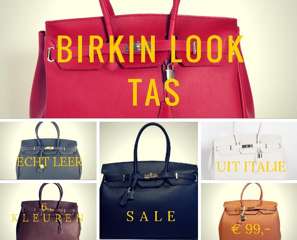 Leren Birkin Bag uitverkoop