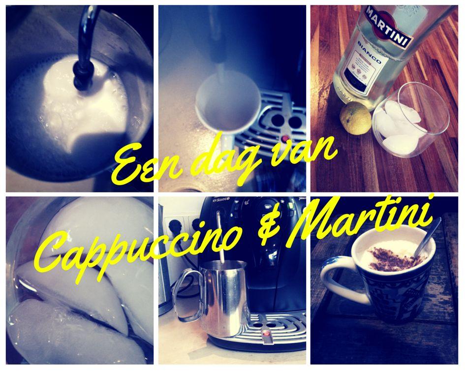 Een dag van Cuppuccino & Martini met ijs en een limoentje