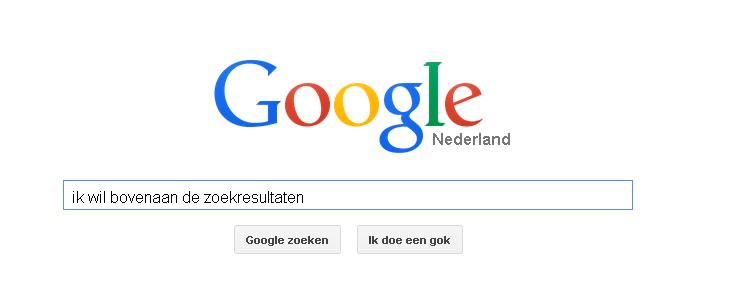 Google voor webshops